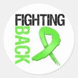 Lymphoma Fighting Back Round Sticker