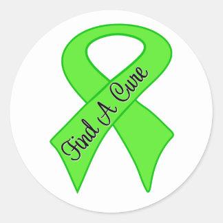 Lymphoma Find a Cure Sticker