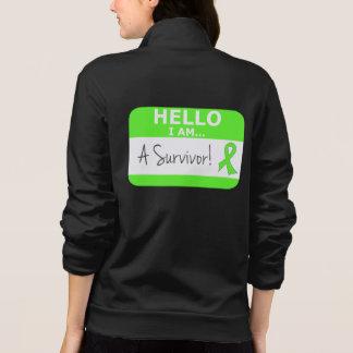 Lymphoma Hello I Am A Survivor Jackets