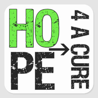 Lymphoma Hope For a Cure Stickers