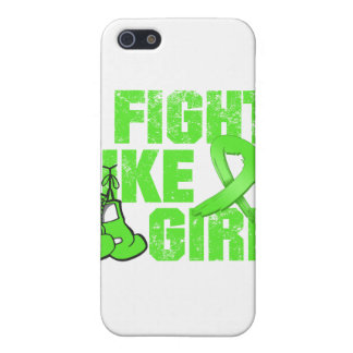 Lymphoma I Fight Like A Girl (Grunge) Cases For iPhone 5