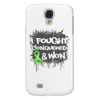 Lymphoma I Fought Conquered Won Galaxy S4 Covers