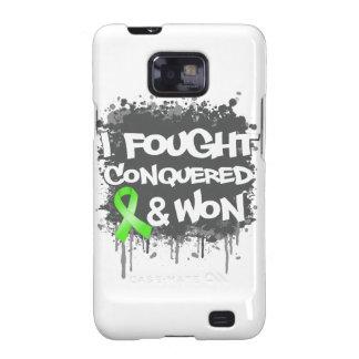 Lymphoma I Fought Conquered Won Samsung Galaxy SII Cover