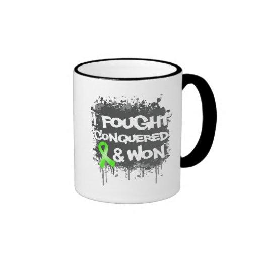 Lymphoma I Fought Conquered Won Coffee Mug