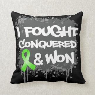 Lymphoma I Fought Conquered Won Pillows