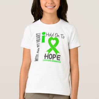 Lymphoma I Hold On To Hope T-Shirt