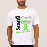 LYMPHOMA  I Stand Alongside My Mother-in-Law T-shirts