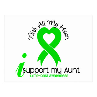 LYMPHOMA I Support My Aunt Postcard