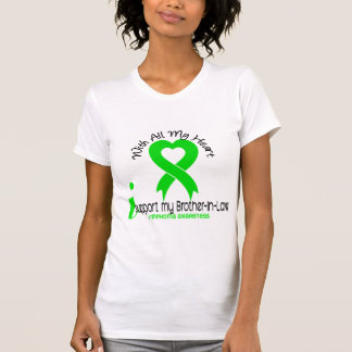 LYMPHOMA I Support My Brother-In-Law T-Shirt