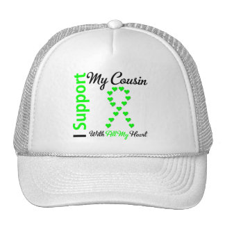 Lymphoma I Support My Cousin Mesh Hat