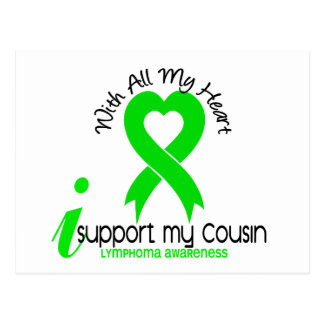 LYMPHOMA I Support My Cousin Postcard