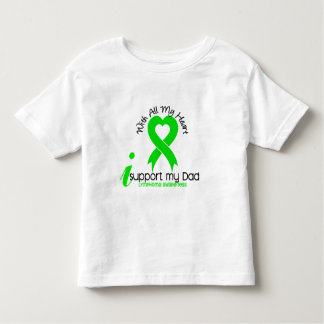 LYMPHOMA I Support My Dad Toddler T-shirt