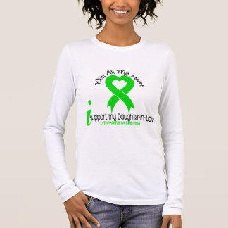 LYMPHOMA I Support My Daughter-In-Law Long Sleeve T-Shirt