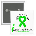 LYMPHOMA I Support My Grandma Pin