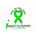 LYMPHOMA I Support My Grandma Postcard
