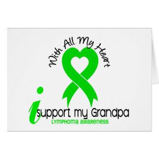 LYMPHOMA I Support My Grandpa Card