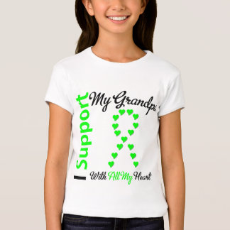 Lymphoma I Support My Grandpa T-Shirt