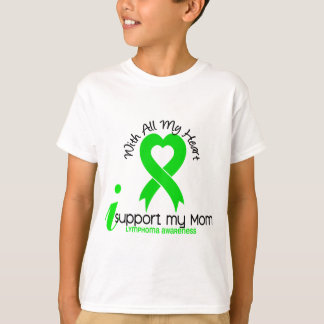 LYMPHOMA I Support My Mom T-Shirt