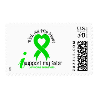 LYMPHOMA I Support My Sister Postage