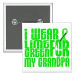 Lymphoma I WEAR LIME GREEN 16 Grandpa Pin