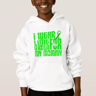Lymphoma I WEAR LIME GREEN 16 Mommy Hoodie