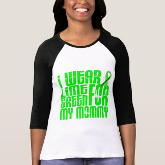 Lymphoma I WEAR LIME GREEN 16 Mommy T Shirt