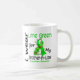 Lymphoma I Wear Lime Green For My Brother-In-Law 4 Coffee Mug