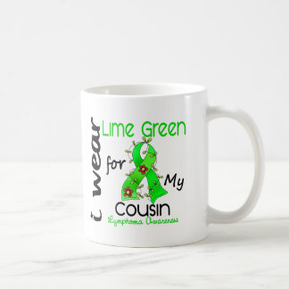 Lymphoma I Wear Lime Green For My Cousin 37COUSIN Coffee Mug