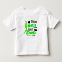 Lymphoma I Wear Lime Green For My Daddy 37 Toddler T-shirt