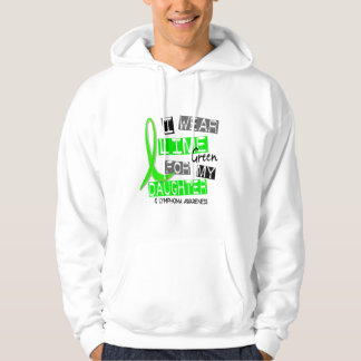Lymphoma I Wear Lime Green For My Daughter 37 Sweatshirt