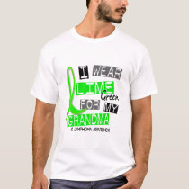Lymphoma I Wear Lime Green For My Grandma 37 T-Shirt