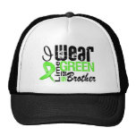Lymphoma I Wear Lime Green Ribbon BROTHER Trucker Hat