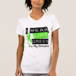 Lymphoma I Wear Lime Green Ribbon For My Grandma Shirts