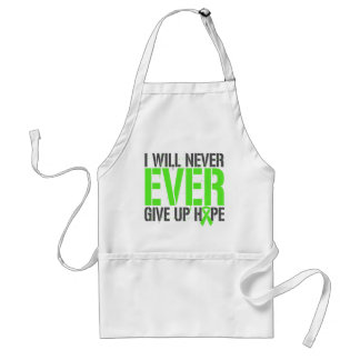 Lymphoma I Will Never Ever Give Up Hope Adult Apron