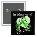 Lymphoma In Memory of My Hero Buttons