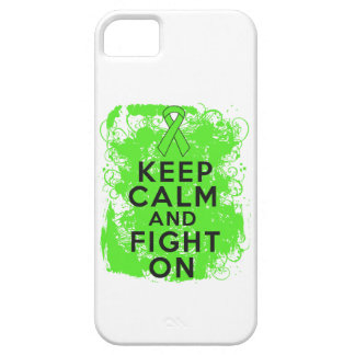 Lymphoma Keep Calm and Fight On iPhone 5 Cases