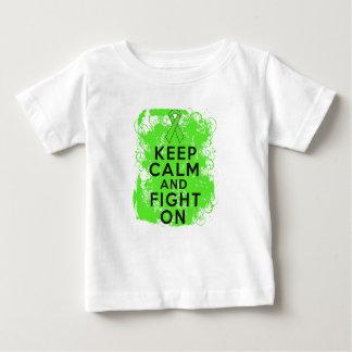 Lymphoma Keep Calm and Fight On Tee Shirts