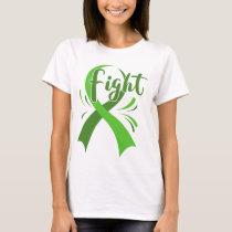 Lymphoma Leukemia Cancer Awareness Shirt Green
