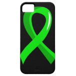 Lymphoma Lime Green Ribbon 3 iPhone 5 Cover