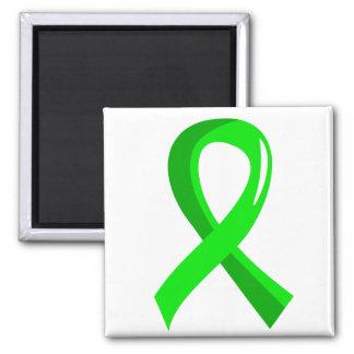 Lymphoma Lime Green Ribbon 3 Magnet