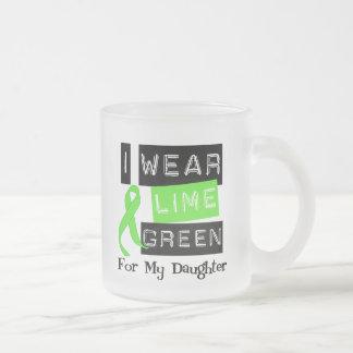 Lymphoma Lime Green Ribbon Daughter Mug
