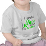 Lymphoma Lime Green Ribbon For My Brother T Shirt