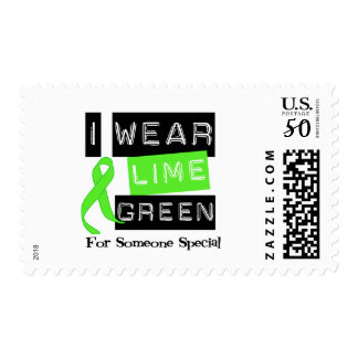 Lymphoma Lime Green Ribbon For Someone Special Postage