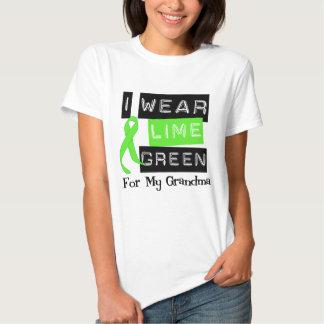 Lymphoma Lime Green Ribbon Grandma T Shirts