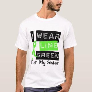 Lymphoma Lime Green Ribbon Sister T-Shirt