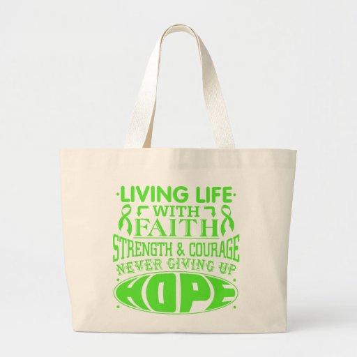 Lymphoma Living Life with Faith Bags