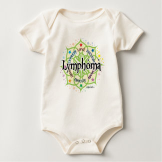 Lymphoma Lotus Baby Bodysuit