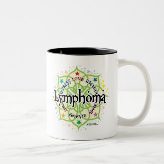 Lymphoma Lotus Two-Tone Coffee Mug