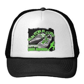 Lymphoma - Men Run For A Cure Hats