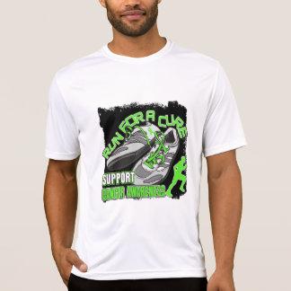Lymphoma - Men Run For A Cure Tee Shirt